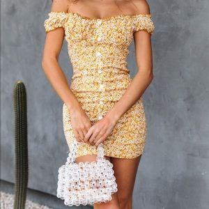 Hello Molly Mustard Dresss